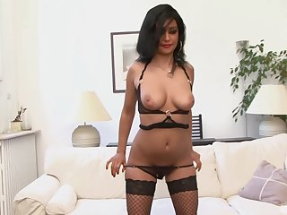 Hairy pussy of age slut Ivannah Su gets fucked by a blackguardly dude