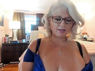 Curvy MILF Rosie: Trying Above Sexy Heels and Dancing w/ Glasses Above