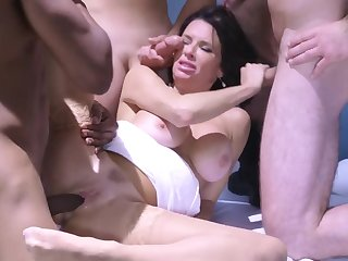 Cute diva is a real master of cock-sucking and vaginal coitus