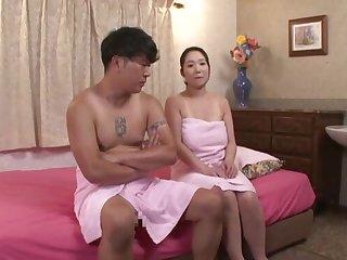 Nuru massage with nice fucking makes fat Nanase Sana cum
