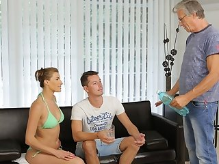 DADDY4K. Chick left almost mouthful of sperm after sexual intercourse
