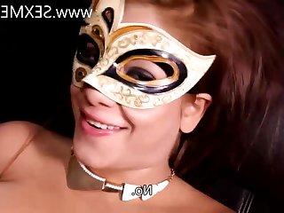 Marlene masked redhead mom with Hazel Eyes - amateur hardcore