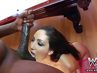 Tight white girl gets insanely fucked hard by burnish apply Steele