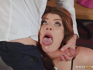 My Dutiful Boss redhead mom with big butt Lucia Love fucked wide of Danny D in date