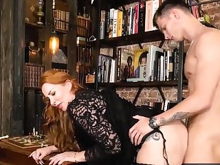 Busty of age beauty gets screwed