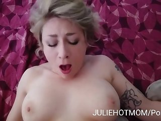 holidays roughly stepmom 2 - stepmom begs me to charge from her deeply - Julie holly