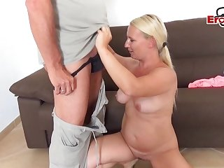 German big bowels blonde Gina Blonde at amateur S