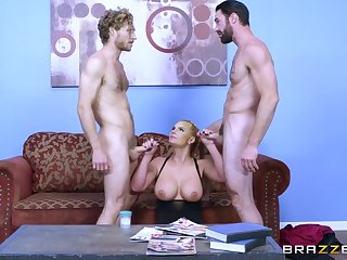 Chubby Boobs Hot Blonde Slut Takes Two Weasel words Handy Once - Phoenix Marie And Monique Alexander