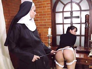 Crazy nun lesbian fetish back two amazing column