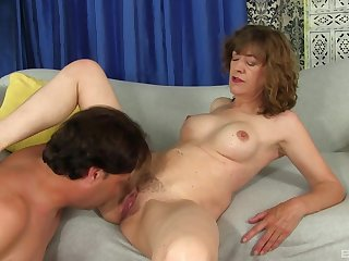 Exclusive mature porn with a guy licking and fucking say no to right