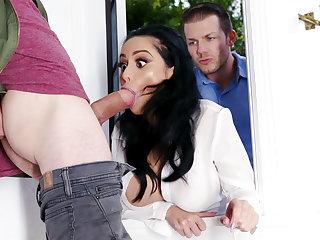 Lustful neighbors fucked hard dominate wife