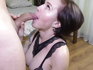 I was at school, my neighbor came and fucked my mom ! Who's going at hand fuck m