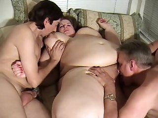Brie Brown Bachelor Party - classic BBW porn