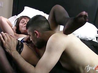 AgedLovE Matured Lady Got Hardcore Pussy Fuck